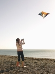 Ads with legs kite photo