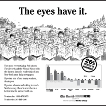 26% Increase in Readership Ad & Flyer