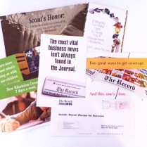 Series of Direct-Mail Pieces