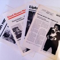 Lipton and Good Humor Employee Newsletters